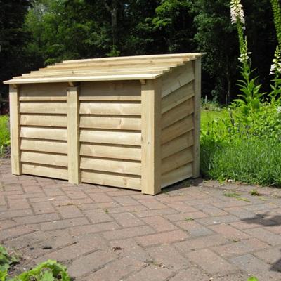 Charmant Firewood Storage Chest