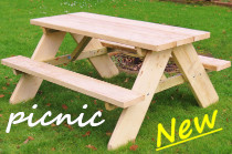 New Picnic Bench